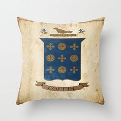 Coffin Crest Pillow #coffincrest