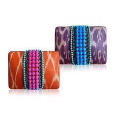 #Arabesque #Inspired #Handmade #Clutch  http://www.ananasa.com/arabesque-inspired-beaded-clutch.html
