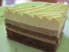Obrázek Recept - Nutelové rezy Cheesecake, Food And Drink, Pudding, Sweet, Recipes, Cakes, Handmade, Candy, Hand Made