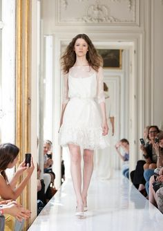 Delphine Manivet  Dress: Lilian    Perfect for the beach!    #youandyourwedding