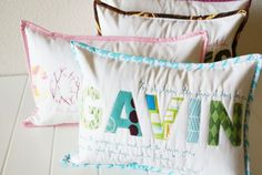 Child'sPillow$40.00http://www.etsy.com/listing/65185666/custom-childs-name-and-scripture-verse