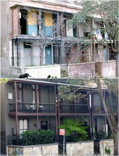 Palmer Street, Woolloomooloo 1980 > 2016. [City of Sydney Archives > Kevin Sundgren. By Kevin Sundgren]