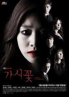2013-2014 korean drama    Thorn Flower Poster1