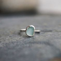 Sadie Jewellery - Sea Glass Ring - SurfGirl Beach Boutique - A Treasure Chest for Surf Girls