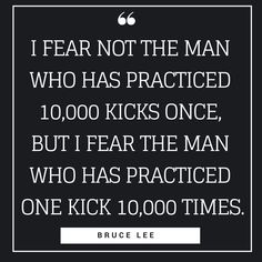 The Bruce Lee philosophy is very similar to the way I am thinking maybe it's because I was reading his quotes when I was 7 years old and he changed my life. Hi Quotes, Minimalist Quotes, Bruce Lee Quotes, Simple Quotes, Busy At Work, Pinterest Pin, Do Not Fear, Change My Life, Quote Of The Day