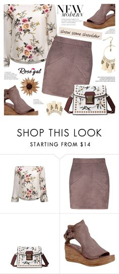 """Rosega : New Modern"" by viebunny ❤ liked on Polyvore featuring A.S. 98, modern, Spring, chicstyle, rosegal and showsomeshoulder"