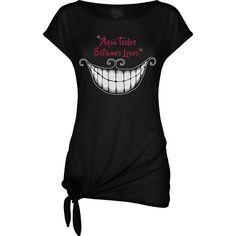 Camiseta Mujer Cheshire Alicia Gato  Diseño Glitter Brillo de SportShirtFactory en Etsy