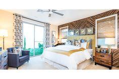 Castle Rock Plan 1 Master Bedroom | New Homes in North Las Vegas