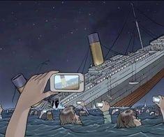 If the Titanic sank this century...