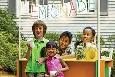 Easy lemonade stand/puppet theater   Photos: Wendell T. Webber