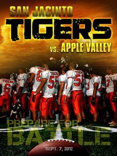 Football program cover 2