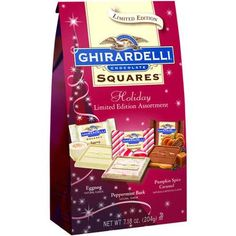 Ghirardelli Limited Edition Holiday Chocolate Squares Assortment Gift - Walmart.com