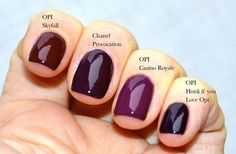 OPI fall colours