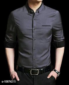 Shirts Unique stylist branded formal shirt for men Fabric: Cotton Sleeve Length: Long Sleeves Pattern: Self-Design Sizes: M (Chest Size: 39 in Length Size: 28 in)  L (Chest Size: 41 in Length Size: 29 in) XL (Chest Size: 43 in Length Size: 30 in) Country of Origin: India Sizes Available: M, L, XL   Catalog Rating: ★4 (531)  Catalog Name: Comfy Fashionista Men Shirts CatalogID_2007489 C70-SC1206 Code: 435-10874215-4731