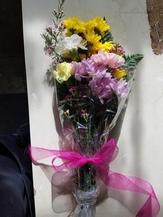 Beautiful Floral Display with Free Delivery Fantasy Freesia Bouquet