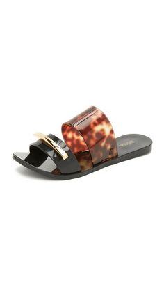 de4602b3d3e MELISSA Wonderful Ii Slide Sandals.  melissa  shoes  sandals Melissa Shoes