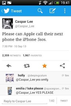 Yes. and the original #5sosfam would get it for free Caspar Lee knows all