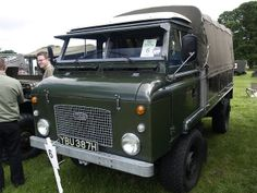vintage land rover truck | Recent Photos The Commons Getty Collection Galleries World Map App ...