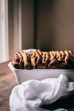 Fig and anise pull-apart bread. Saving this one for Christmas morning.