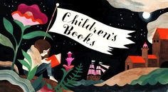 Carson Ellis illustration: Children's Books - for a special edition of the Book Review in the New York Times