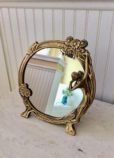 Mirrors Buy Cheap Vintage Diamond Mirror Hollywood Regency Mid Century Modern Antiques