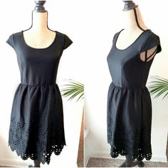 Brand new Xhilaration Lined Dress Size M Stretchy material, wrinkle free, always stay in shape. Body: 92% Polyester 8% Spandex, Lining: 100% polyester Xhilaration Dresses