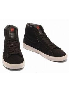 299916f704fd Nike Blazers High Premium Sneakers Black