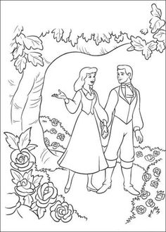 105 Cinderella printable coloring pages for kids. Find on coloring-book thousands of coloring pages. Cinderella Coloring Pages, Disney Princess Coloring Pages, Disney Princess Colors, Cartoon Coloring Pages, Coloring Book Pages, Cinderella Crafts, Garden Coloring Pages, Disney Cartoon Characters, Cartoon Movies