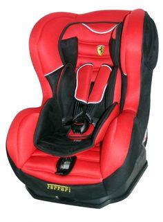 Siège-auto groupe 0/1 Ferrari.