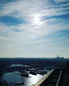 #Amsterdam in a sunny autumn morning