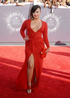 MTV #VMAs 2014: Our top 19 best dressed from the wildest show of the year // Demio Lovato in Lanvin