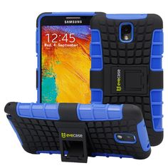 Evecase OFFROAD Dual Layer Grip Case with Kick-Stand $10