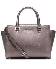 b5a4f948e4 MICHAEL Michael Kors Selma Medium Satchel Handbags   Accessories - Macy s.  Michael Kors Handbags ClearanceSatchel HandbagsMichael Kors BagHandbags ...