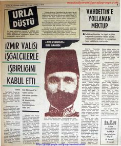 Newspaper Headlines, Old Newspaper, Turkish War Of Independence, Turkey Country, Istanbul, Nostalgia, Black And White, History, Ottomans