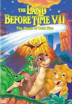 The Land Before Time: the Stone of Cold Fire, 1999. Memorable scene of the massacre of Pterano's followers.