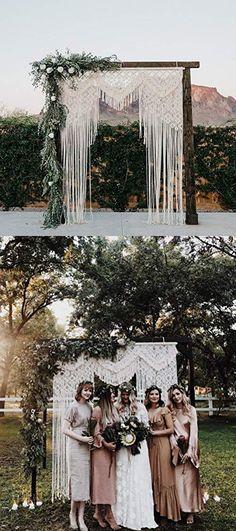 Macrame Wall Decor Hanging - Bohemian Home Geometric Art Decor - Beautiful Apartment Dorm Room Decoration-Macrame Curtain-Macrame Wedding Backdrop for Christmas & Holiday Decorations W x L - Safari Wedding - Safari Wedding, Wedding Wall, Wedding Backdrops, Bohemian Wedding Decorations, Holiday Decorations, Bohemian Backdrop, Bohemian Decor, Macrame Curtain, Wedding Background