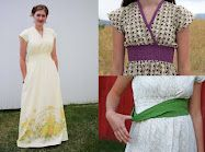 Maxi Sheet Dress Sewing Pattern and tutorial.