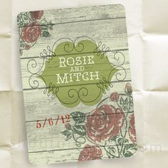 Save the Date Invitations  A Little Bit Country by shoutout, $85.00