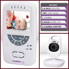 viva veltoro: Lorex Sweet Peek Video Monitor Giveaway! #FALLing For Baby