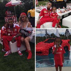 Florence's Blog: Tyga's son King had a Ferrari themed birthday part...
