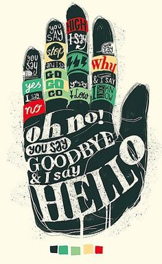 Beatles Type Poster