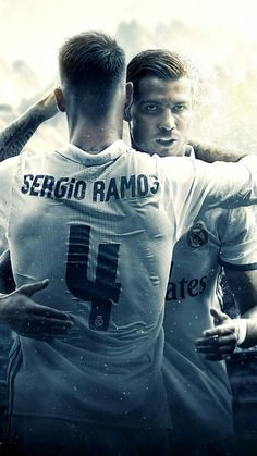 Sergio Ramos y Cristiano Ronaldo Real Madrid Liga, Ramos Real Madrid, Ronaldo Real Madrid, Cristiano Ronaldo Wallpapers, Cristiano Ronaldo Cr7, Neymar, Football Love, Best Football Team, World Best Football Player