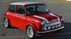 Red Classic Mini Cooper