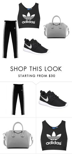 """Untitled #486"" by moonlightprincess93 on Polyvore featuring adidas Originals, NIKE, Givenchy, Topshop, women's clothing, women, female, woman, misses and juniors"