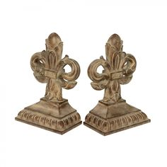 Sterling Industries Imperial Iris Bookend (Set of 2) - 87-1369