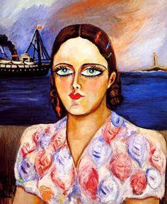 Esta es una obra la cual se pinta a sí misma, es interesante ver como se ve a si misma, es un trabajo muy representativo y significativo, ya que representa a la mujer, la mujer de ese tiempo y como es que por ella misma pudo llegar a pintarse, de manera tan buena  que ayuda a que la mujer tenga un mayor papel dentro de la historia del arte mexicano