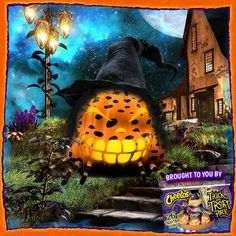 Check out this pumpkin I made with Chester's Pumpkinator! Design your own and enter weekly for the chance to win $1,000! http://bit.ly/Pumpkinator #CheetosHalloweenEntry