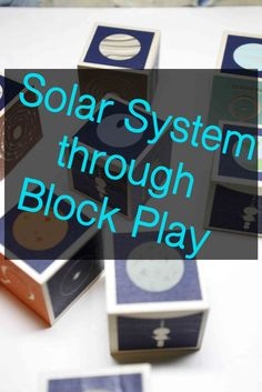 These blocks are so much fun. Such a clever way to learn all about the solar system.