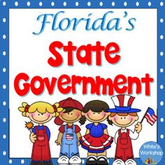 Integrate your social studies into your ELA block with these vocabulary cards, posters, nonfiction text, and worksheets.aligns with 4th grade Sunshine State StandardsProduct Includes:12 vocabulary and definition cards that you can fold or separate.4 colorful branches of state government posters2 nonfiction text about U.S.