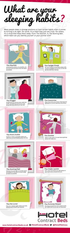 What are your sleeping habits? #infographic